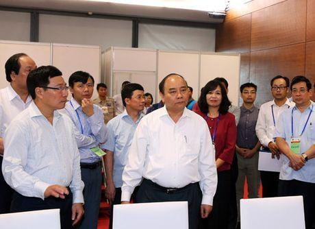 Thu tuong kiem tra cong tac chuan bi cac Hoi nghi ACMECS, CLMV, WEF-Mekong - Anh 1