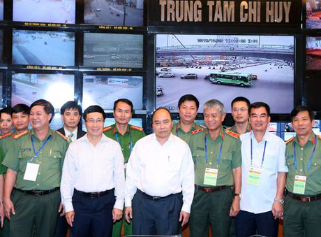 Thu tuong kiem tra cong tac chuan bi cac Hoi nghi ACMECS, CLMV, WEF-Mekong - Anh 2