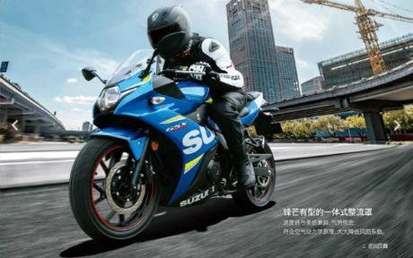 Tat tat thong tin ve Suzuki GSX 250R - Anh 1