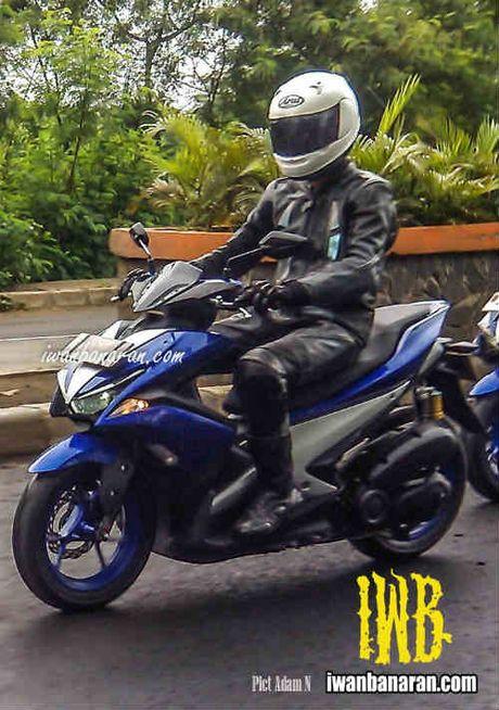 Lo anh Yamaha NVX 150 khong nguy trang chay thu - Anh 6