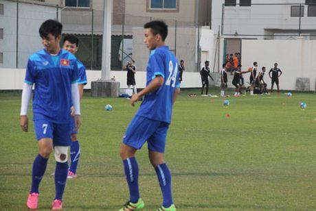 Chu nha Bahrain lam kho U19 Viet Nam truoc tran Tu ket U19 chau A - Anh 1
