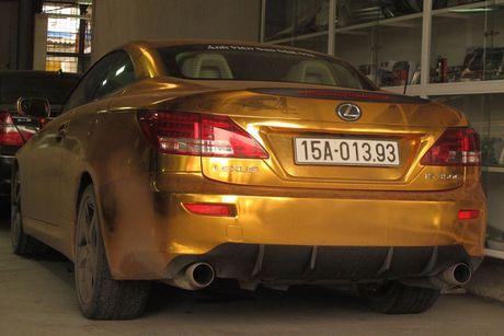 Xe sang tien ty Lexus IS 350C 'ma vang' tai Hai Phong - Anh 5