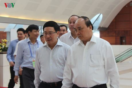 Thu tuong thi sat cong tac to chuc CLMV8, ACMECS7, WEF-Mekong - Anh 2