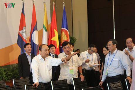 Thu tuong thi sat cong tac to chuc CLMV8, ACMECS7, WEF-Mekong - Anh 3