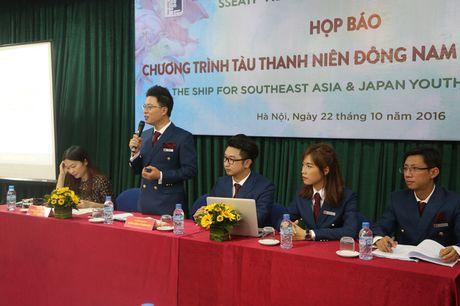Tau Thanh nien Dong Nam A - Nhat Ban (SSEAYP) 2016 chuan bi nho neo - Anh 1