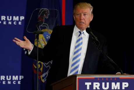 Ong Trump lam gi trong 100 ngay dau tien neu lam tong thong? - Anh 1