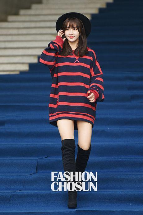 12 bo canh dep nhat cua my nhan Han o Seoul Fashion Week - Anh 3