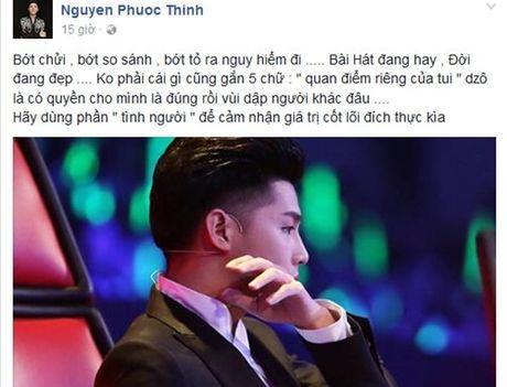 Noo Phuoc Thinh buc xuc vi tro cung bi so sanh voi Phuong My Chi - Anh 2