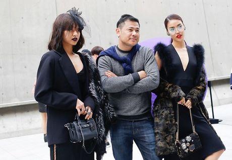 Lan Khue va Mai Ngo 'can quet' duong pho Seoul - Anh 11