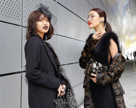 Lan Khue va Mai Ngo 'can quet' duong pho Seoul - Anh 3