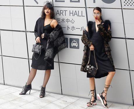 Lan Khue va Mai Ngo 'can quet' duong pho Seoul - Anh 4