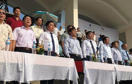 Khai mac Vong chung ket Giai Bong da Sinh vien toan quoc 2016 – Cup Viettel - Anh 5