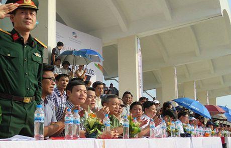 Khai mac Vong chung ket Giai Bong da Sinh vien toan quoc 2016 – Cup Viettel - Anh 6