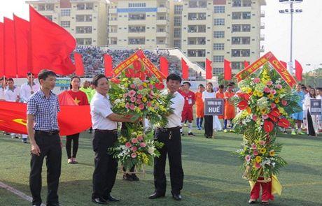 Khai mac Vong chung ket Giai Bong da Sinh vien toan quoc 2016 – Cup Viettel - Anh 7