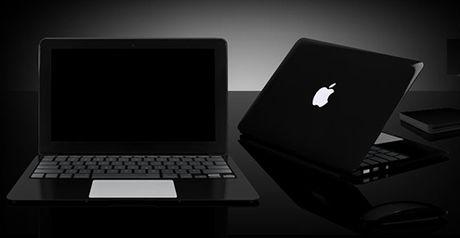 Lieu Apple co san xuat phien ban mau den bong cho MacBook - Anh 1