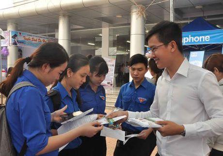 Ngay hoi viec lam thanh nien lan thu 2 thu hut hang nghin ban tre phia Nam - Anh 2
