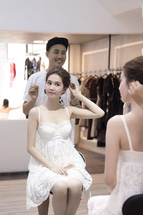 Ngoc Trinh lam khach VIP o 'Hoa hau Han Quoc 2016' - Anh 2