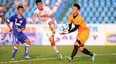 U.21 Than Quang Ninh 0-0 U.21 HAGL: Ca hai thua quyet tam nhung thieu sac ben - Anh 1