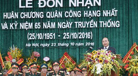 Hoc vien Chinh tri quan doi nhan Huan chuong Quan cong hang nhat - Anh 1