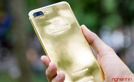 'Bong tay' cam iPhone 7 Plus vang 24K gia 180 trieu tai Viet Nam - Anh 13