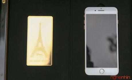 'Bong tay' cam iPhone 7 Plus vang 24K gia 180 trieu tai Viet Nam - Anh 3