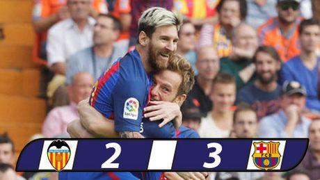 Messi lap cu dup, Barca thang hu via Valencia - Anh 1