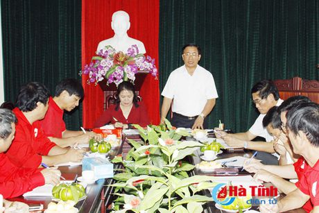 Ha Tinh chu dong ung pho thien tai, thuc hien tot cong tac cuu tro - Anh 1