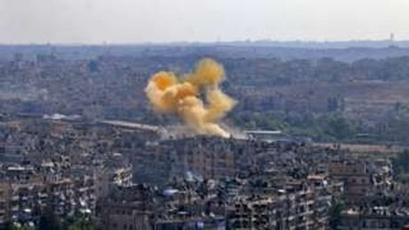 Danh nhau ngay sau lenh ngung ban ket thuc o Syria - Anh 1