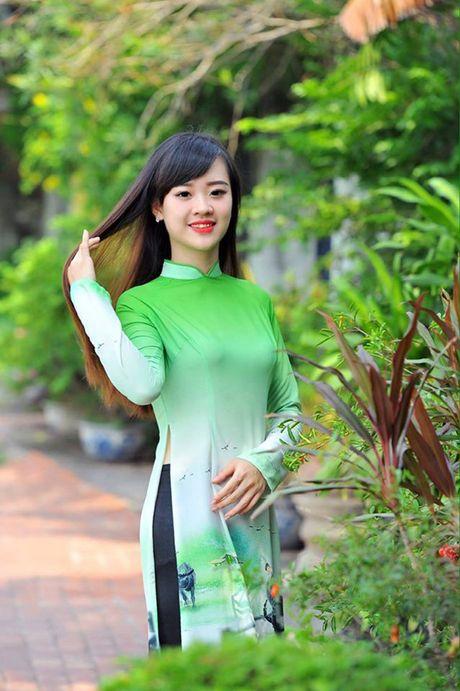 Nu sinh DH Phong chay chua chay xinh dep, dam me mua bung - Anh 8