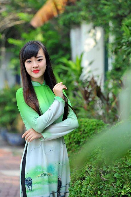 Nu sinh DH Phong chay chua chay xinh dep, dam me mua bung - Anh 9