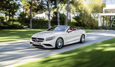 Mercedes-Benz sap trinh lang S500 Cabriolet 2016 tai Viet Nam - Anh 1