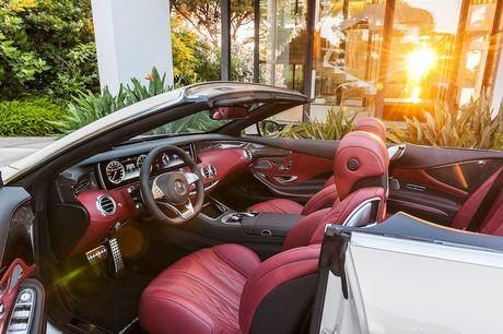 Mercedes-Benz sap trinh lang S500 Cabriolet 2016 tai Viet Nam - Anh 2