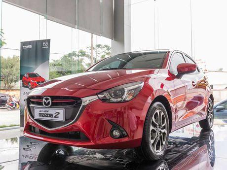 Hang loat xe Mazda 2 All New bi trieu hoi o Viet Nam - Anh 1