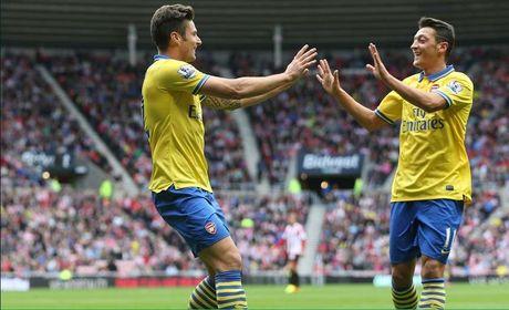 Nhung khoanh khac dep nhat cua Ozil tai Arsenal - Anh 1