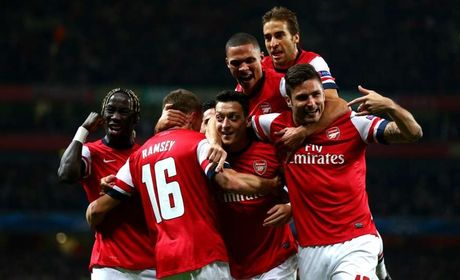 Nhung khoanh khac dep nhat cua Ozil tai Arsenal - Anh 3