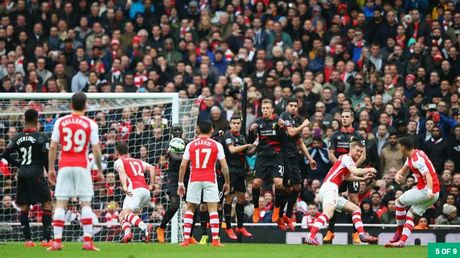 Nhung khoanh khac dep nhat cua Ozil tai Arsenal - Anh 4