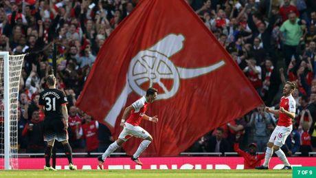 Nhung khoanh khac dep nhat cua Ozil tai Arsenal - Anh 6