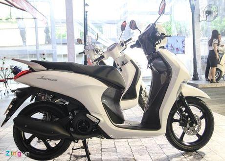 Gan 4.000 chiec Yamaha Janus ban ra trong thang 9 o VN - Anh 1