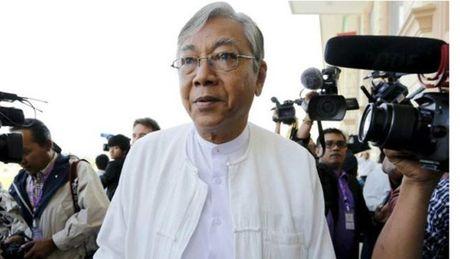 Tong thong Myanmar tham Viet Nam - Anh 1