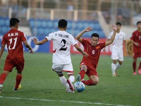 U19 Viet Nam luong truoc 'kich ban xau' - Anh 1