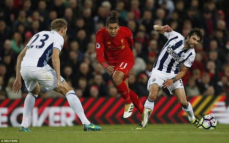 Chum anh: Thang West Brom 2-1, Liverpool dung nhi Premier League - Anh 10