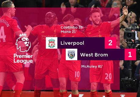Chum anh: Thang West Brom 2-1, Liverpool dung nhi Premier League - Anh 12