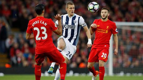 Chum anh: Thang West Brom 2-1, Liverpool dung nhi Premier League - Anh 8