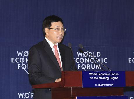Hoi nghi ACMECS, CLMV, WEF-Mekong - Anh 12