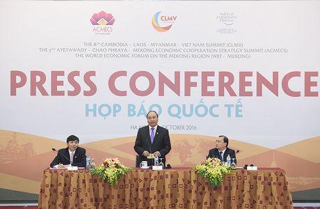 Hoi nghi ACMECS, CLMV, WEF-Mekong - Anh 23