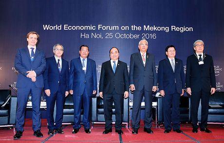 Hoi nghi ACMECS, CLMV, WEF-Mekong - Anh 7