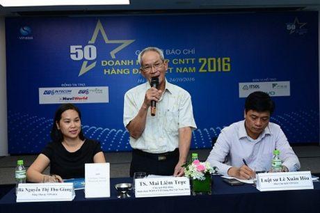 Cong bo 50 doanh nghiep CNTT hang dau Viet Nam 2016 - Anh 1