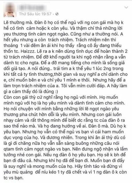 Hai phu nu khoe anh chung chong: Loi dang nguoi vo that - Anh 2