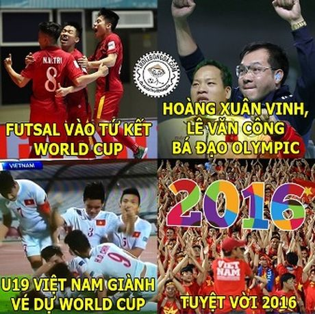 Anh che vui U19 Viet Nam gianh ve du World Cup - Anh 2