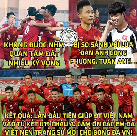 Anh che vui U19 Viet Nam gianh ve du World Cup - Anh 3